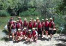 Team building: rafting, Cetina